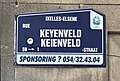 Rue Keyenveld-Keienveldstraat panneau de rue.jpg