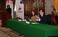 Rueda de prensa conjunta Canciller Falconí-Ministra Espinosa sobre los resultados de la participación del Ecuador en la cita mundial sobre medio ambiente en Copenhague (4203243003).jpg