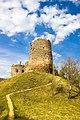 Ruinele cetății Bologa, vedere Sudică.jpg