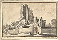 Ruins and a barred gate on the Esquiline Hill in Rome MET DP829224.jpg