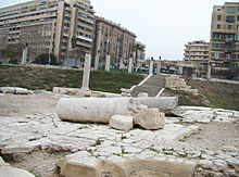 Ruins of Bath Entrance at Kom el Dikka (I).jpg