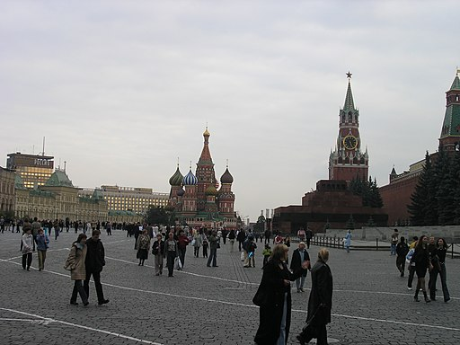 Russia-Moscow-Red Square-1