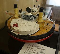 Russian monitor Novgorod (scale model).jpg