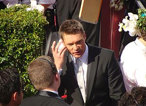 Ryan Seacrest - Seacrest at 2008 Primetime Emmys at Nokia Plaza in Los Angeles