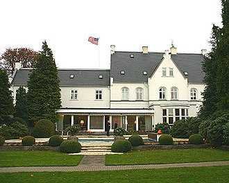 Skovshoved - Rydhave, the residence of the US Ambassador