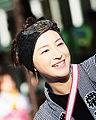 Ryoko Hirosue at Kochi Yosakoi Matsuri 1 crop2.jpg