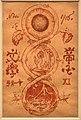Ryusei kishida, disegno per la copertina del teikoku bungaku, 1916, acquerello su carta.jpg