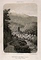 Sálazie, Réunion Islands; hot springs and snowy peaks. Tinte Wellcome V0014455.jpg