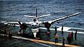 S-2F of VS-21 on USS Kearsarge (CVS-33) 1964.jpg