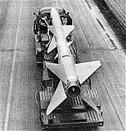 S-75 SAM on a transporter