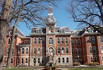 Ambrose Hall (Davenport, Iowa) - Ambrose Hall in 2014