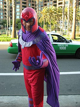 Cosplayer als Magneto, 2013.