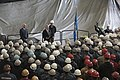 SECNAV Ray Mabus holds an all-hands call for Sailors and shipyard employees at General Dynamics Electric Boat. (30238665671).jpg