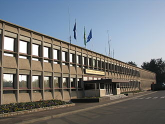 Supreme Headquarters Allied Powers Europe - Main building at SHAPE