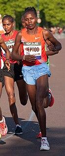 Priscah Jeptoo Kenyan female Olympic long-distance/marathon runner