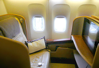 Singapore Airlines - Boeing 777-300ER First Class