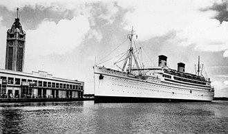 SS Lurline (1932) - Image: SS Lurline at Honululu in the 1930s