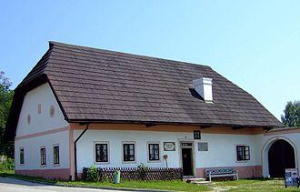 Adalbert Stifter - The house where Adalbert Stifter was born in Horní Planá