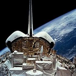 STS-56 ATLAS-2 pallet