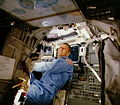 STS-5 Overmyer behind pilot's seat.jpg