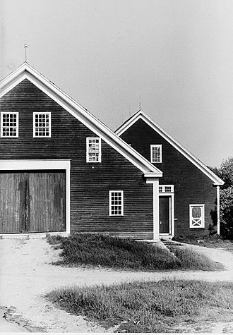 Simple Gifts - Image: Sabbathday Lake Shaker Village barns, Historic American Buildings Survey