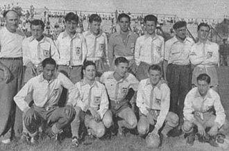 Sacachispas Fútbol Club - The Sacachispas team that won the Primera D championship in 1954.