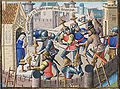 Sack of Rome by Alaric - sacred vessels are brought to a church for safety (2nd of 2).jpg