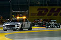 Safety Car with Lewis Hamilton 2014 Singapore.jpg