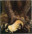Sagan om de fyra Stortrollen och Lille Vill-Vallareman by John Bauer 1909.jpg