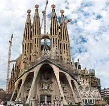 Sagrada fam lia wikipedia - Architekt barcelona ...