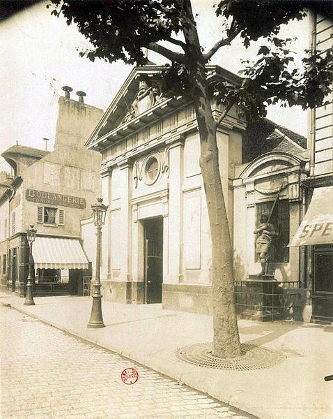 Fichier:Saint-Denys de La Chapelle, 1903, par Eugène Atget.jpg