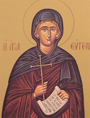 Eugenia of Rome - Image: Saint Eugenia