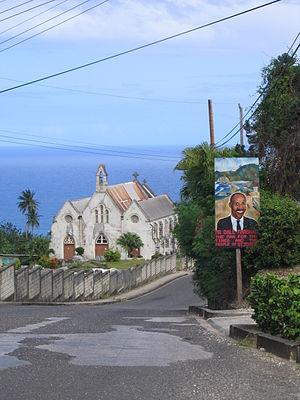 Parishes of Barbados - Lead church of the Parish.