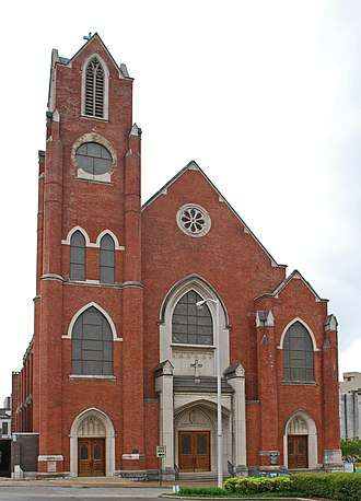 Roman Catholic Diocese of Knoxville - Basilica of Saints Peter and Paul (Chattanooga, Tennessee)
