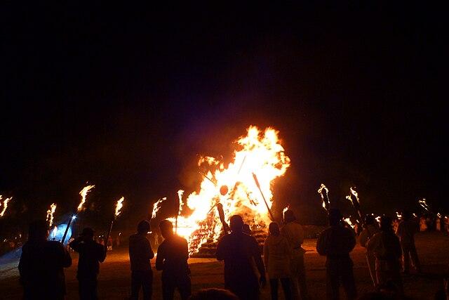 さきたま火祭り (埼玉)