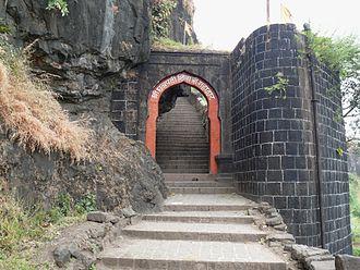 Sajjangad - Image: Sajjangad entrance