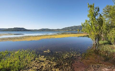 Salagou Lake, Hérault, France
