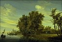 Salomon van Ruysdael - The Road along the River - KMS726 - Statens Museum for Kunst.jpg