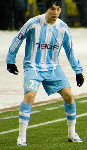 Samir Nasri - Nasri with Marseille in 2008.
