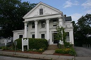 Samuel Copeland House - Image: Samuel Copeland House Worcester MA