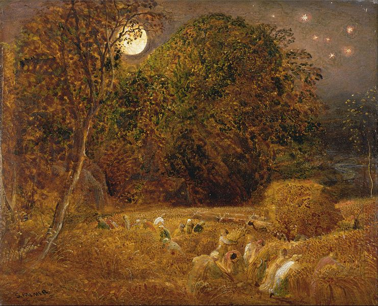 File:Samuel Palmer - The Harvest Moon - Google Art Project.jpg