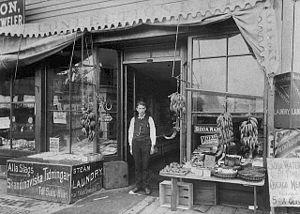 Cedar-Riverside, Minneapolis - Samuelson's Confectionery 1890