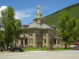 San Juan County, Colorado - San Juan County Courthouse in Silverton