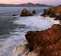 San Francisco Bay, Golden Gate Bridge and Marin Headlands at sunset.jpg