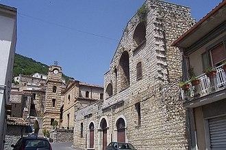 Cerchiara di Calabria - Image: San Pietro church with observatory