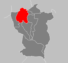 Ubicación de Municipio Ezequiel Zamora (Cojedes)