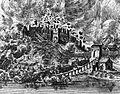 Sandomierz zamek 1656.jpg