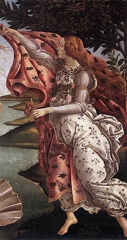 Sandro Botticelli - The Birth of Venus (detail) - WGA2775