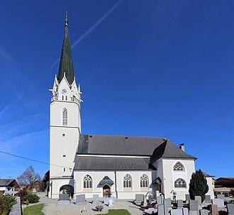 Sankt Marienkirchen am Hausruck - Image: Sankt Marienkirchen am Hausruck Kirche
