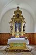 Sankt Martin Kirche in Ums Völs am Schlern Altar.JPG
